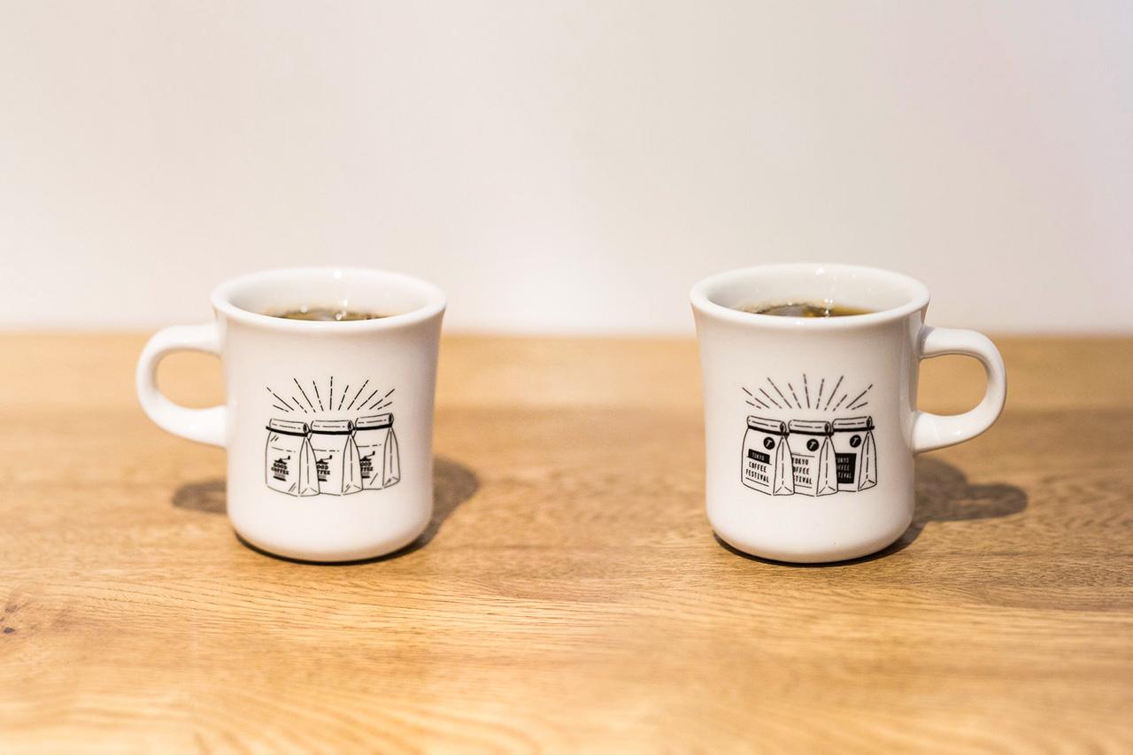 TOKYO COFFEE FESTIVAL オフィシャルミニマグカップ